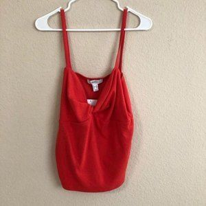 Forever 21 Tank Top Twist Front Sleeveless  NWT